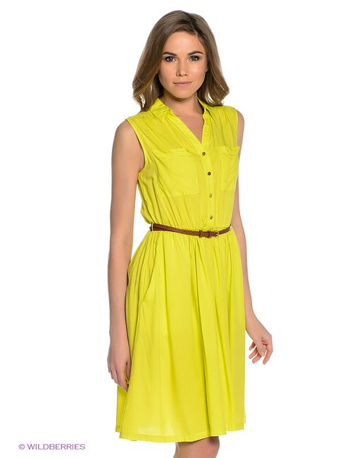 Sela | Женские Жёлтые Платья