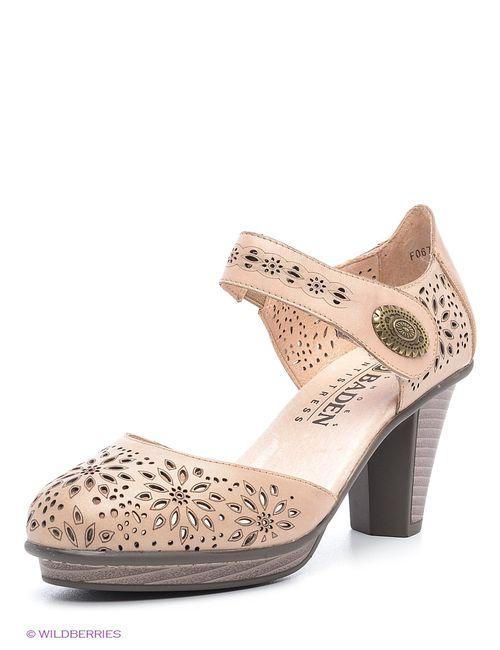 Baden | Женские Бежевые Туфли
