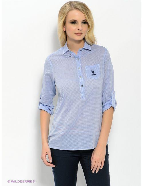 U.S. Polo Assn. | Женские Голубы Рубашки