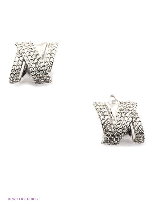 Lovely Jewelry | Женские Серебристые Ювелирные Серьги