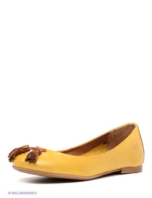 Goergo | Женские Жёлтые Балетки