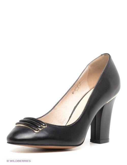 Mario Ponti | Женские Чёрные Туфли
