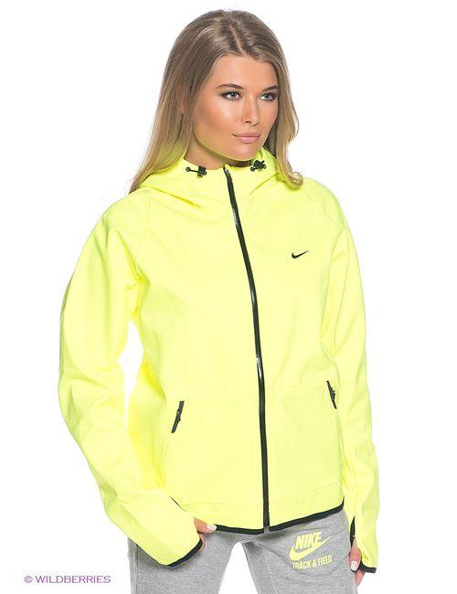 Nike | Жёлтые Толстовки