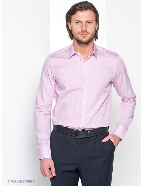 Mondigo | Мужские Розовые Рубашки