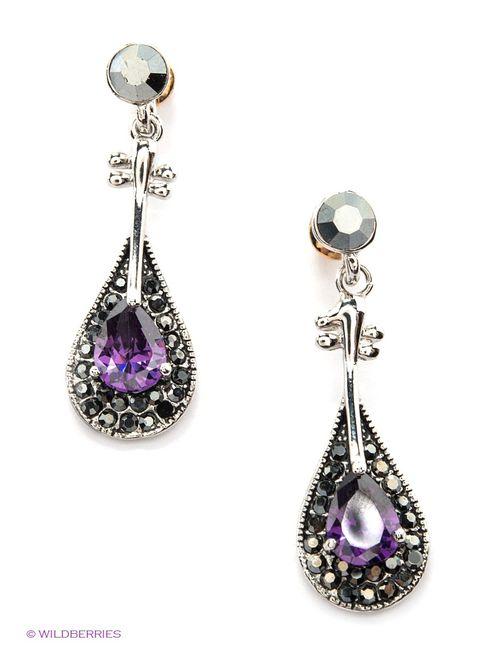 Lovely Jewelry   Женские Фиолетовые Серьги