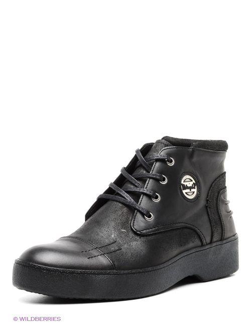 METROPOLPOLIS   Мужские Чёрные Ботинки