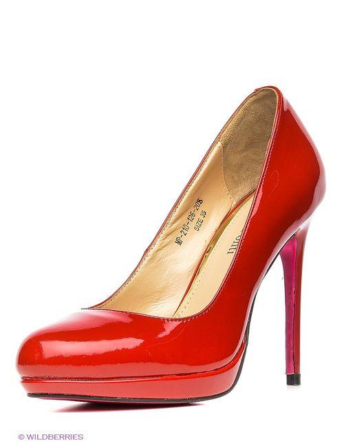 Mario Ponti | Женские Красные Туфли