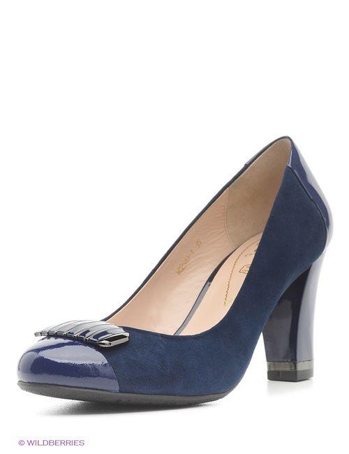 Moda Donna | Женские Синие Туфли