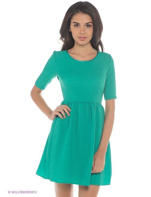 Oodji | Женские Зелёные Платья