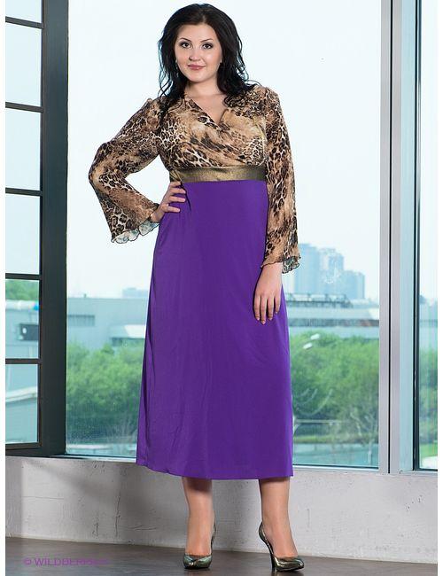 Gemko plus size | Женские Фиолетовые Платья
