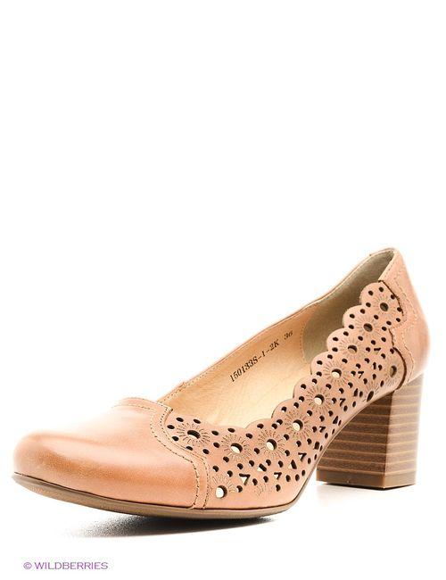 Renaissance | Женские Коричневые Туфли