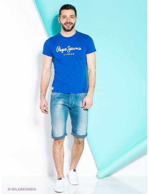 Pepe Jeans London | Мужские Синие Шорты
