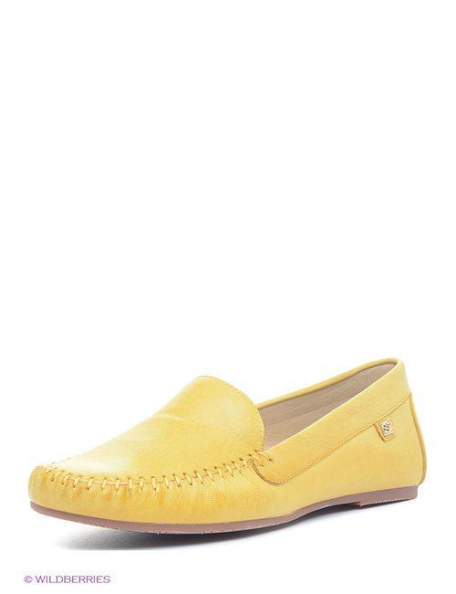 Spur | Женские Жёлтые Мокасины