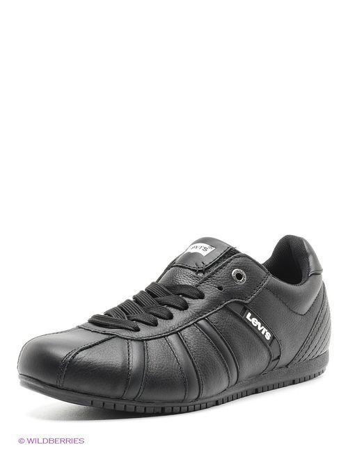 Levi's® | Мужские Чёрные Ботинки