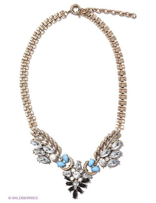 Milana Style | Женское Голубое Колье