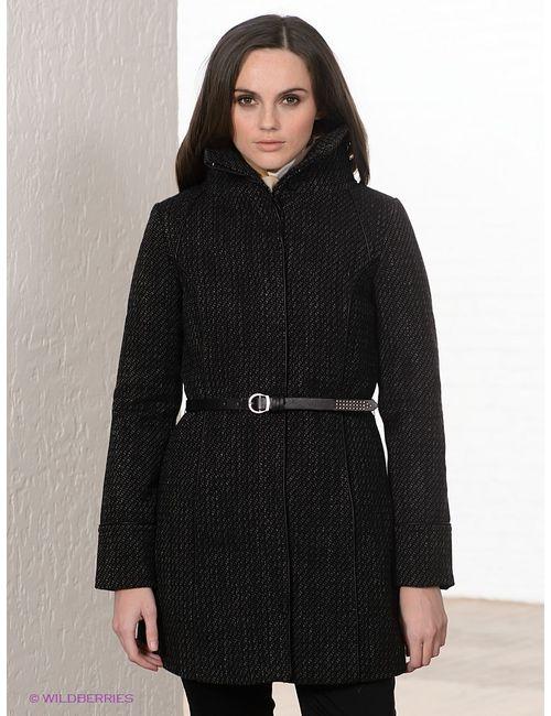 Moodo | Женское Чёрное Пальто