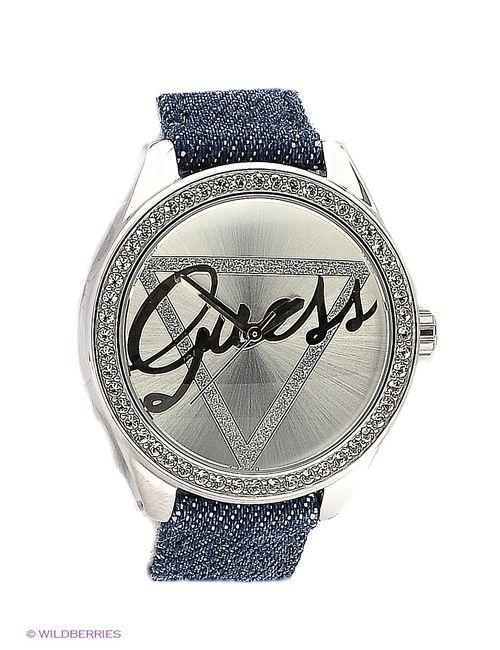 Guess   Женские Синие Часы