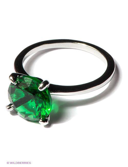 Royal Diamond | Женские Зелёные Кольца