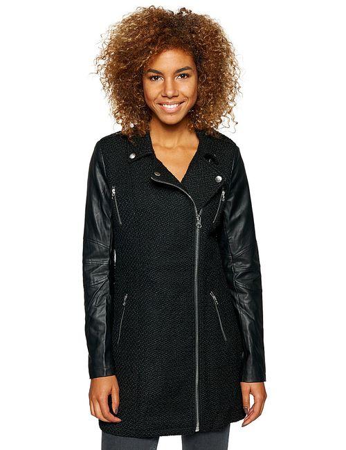 TOM TAILOR | Женское Чёрное Пальто