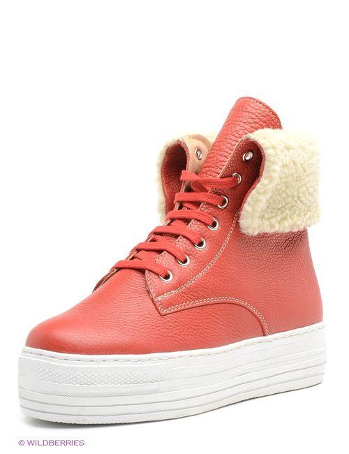 Ralf Ringer | Женские Красные Ботинки
