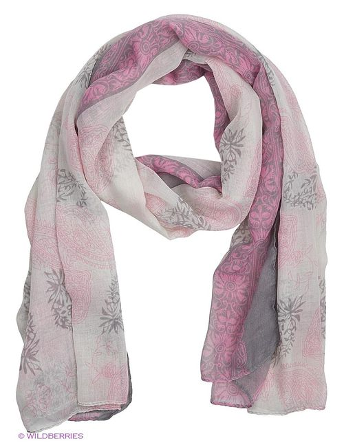 Venera | Женские Розовые Палантины