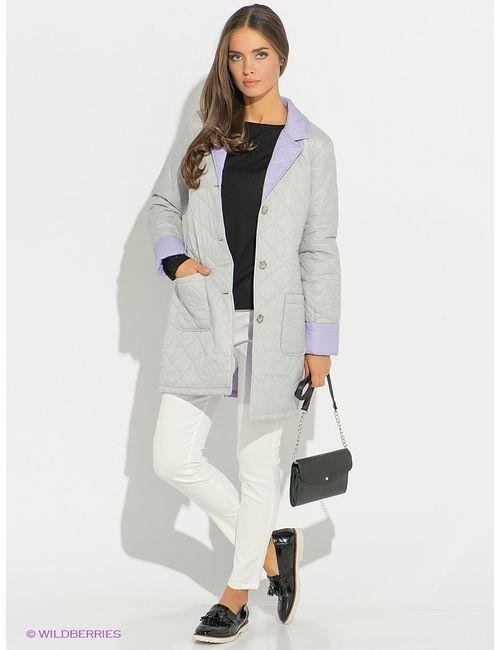 Stefanel | Женское Фиолетовое Пальто