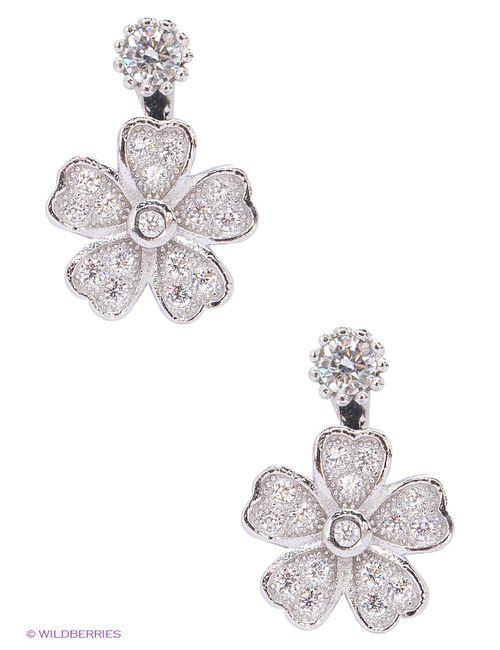 Art Silver | Женские Серебристые Ювелирные Серьги
