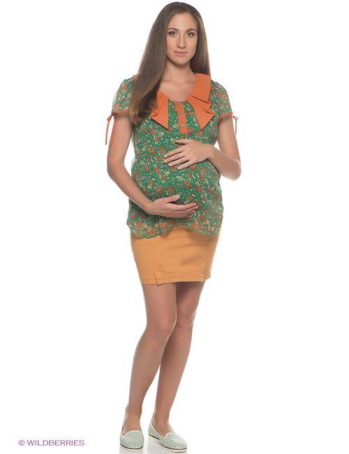 EUROMAMA | Женские Оранжевые Блузки
