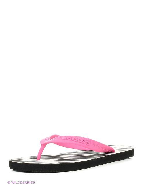 Adidas | Женские Розовые Пантолеты