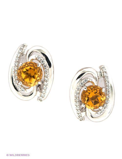 Lovely Jewelry | Женские Жёлтые Ювелирные Серьги