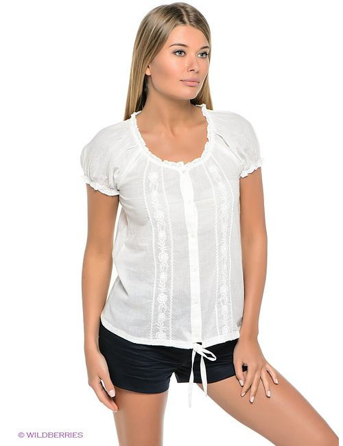 Sela | Женские Белые Блузки
