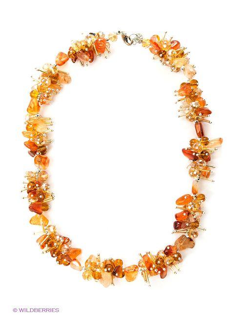 Art Silver | Женское Оранжевое Колье