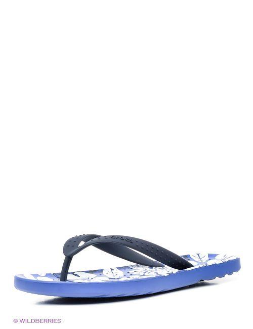 Crocs | Женские Фиолетовые Шлепанцы