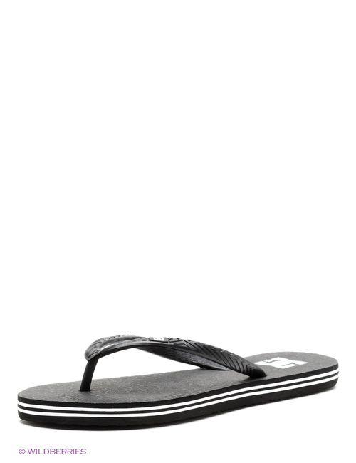 Dcshoes | Женские Чёрные Шлепанцы Dc Shoes