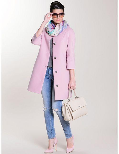 Colambetta | Женское Розовое Пальто