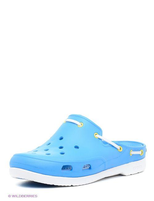 Crocs | Женское Голубой Сабо