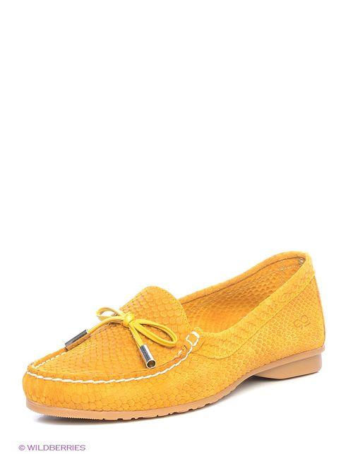 Goergo | Женские Жёлтые Мокасины