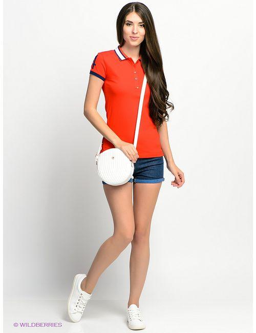 U.S. Polo Assn. | Женские Синие Шорты