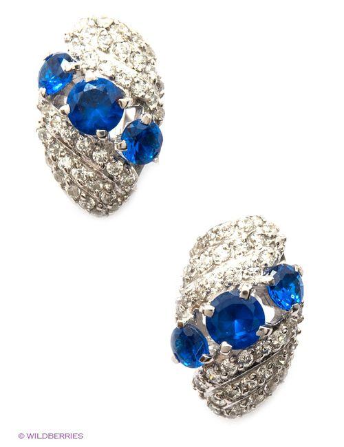 Lovely Jewelry | Женские Синие Ювелирные Серьги