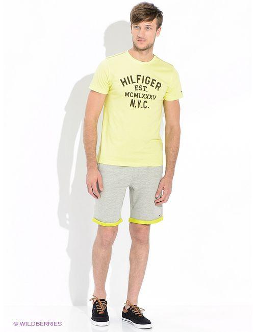 Tommy Hilfiger | Мужские Жёлтые Футболки