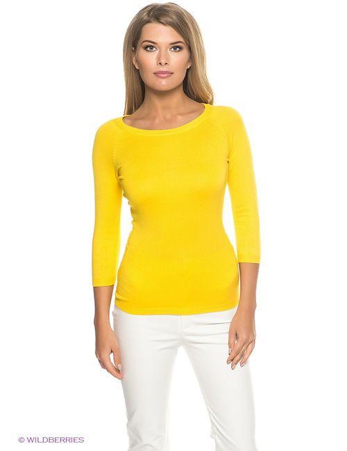 Oodji | Женские Жёлтые Джемперы