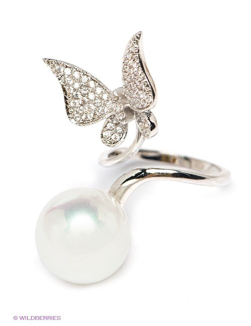 Royal Diamond   Женские Серебристые Кольца