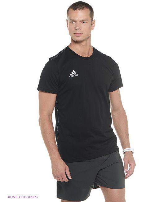 Adidas | Мужская Чёрная Футболка