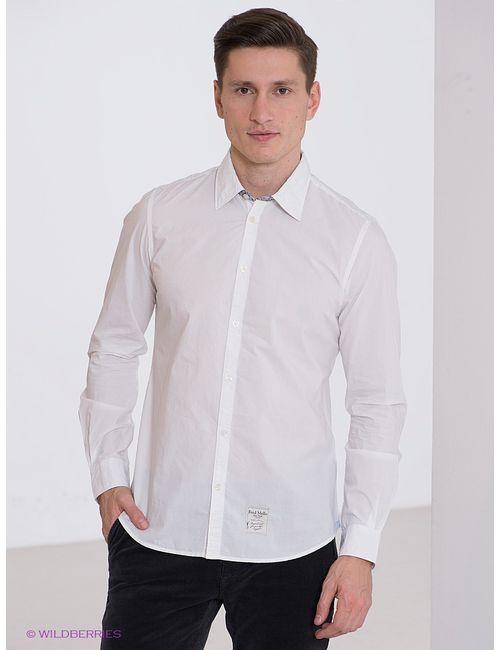 Fred Mello   Мужские Белые Рубашки