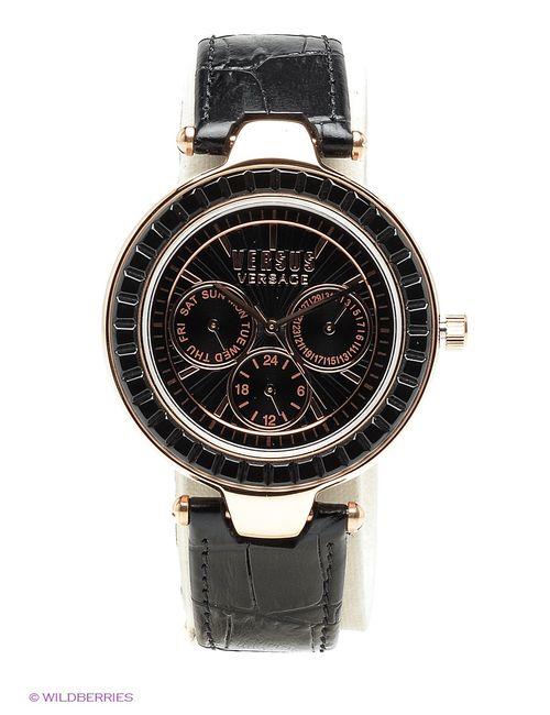 Versus | Женские Чёрные Часы Versace