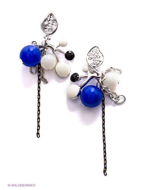 Art Silver | Женские Синие Серьги