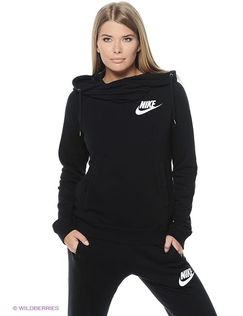 Nike | Женские Чёрные Свитшоты