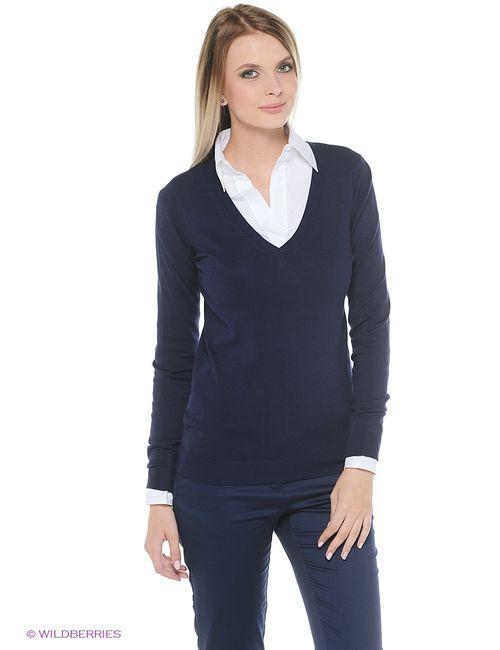 Oodji | Женские Синие Пуловеры