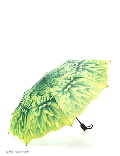 RAINDROPS | Женские Зелёные Зонты