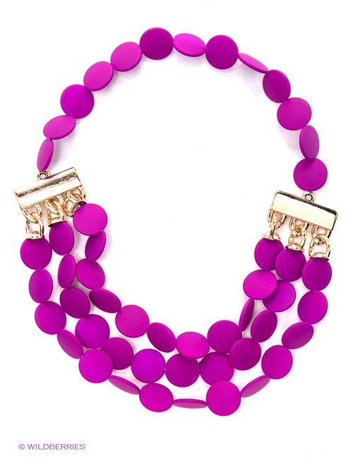 Lovely Jewelry | Женское Фуксия Колье